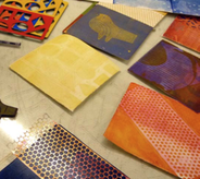 Collagraphy